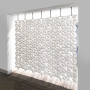 Bloomming Facet Room Divider | Hängend | B 238 x H 230 cm