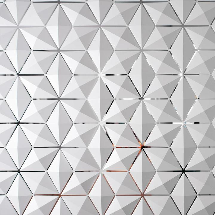 Bloomming Facet Room Divider | Hanging | W 340 x H 131 cm