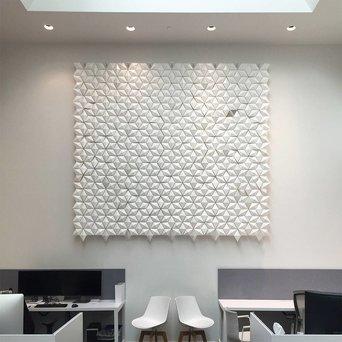 Bloomming Facet Room Divider | Hängend | B 306 x H 288 cm