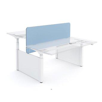Workbrands Workbrands Smart | H 80 cm | Duo desk divider