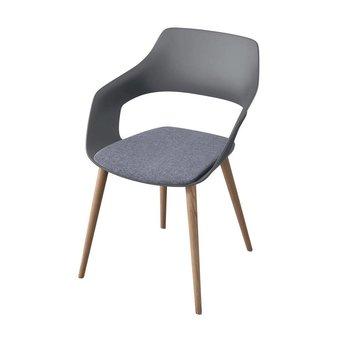 Wilkhahn Wilkhahn Occo | Konferenzstuhl | 4-beinig Holz | Sitz bezogen