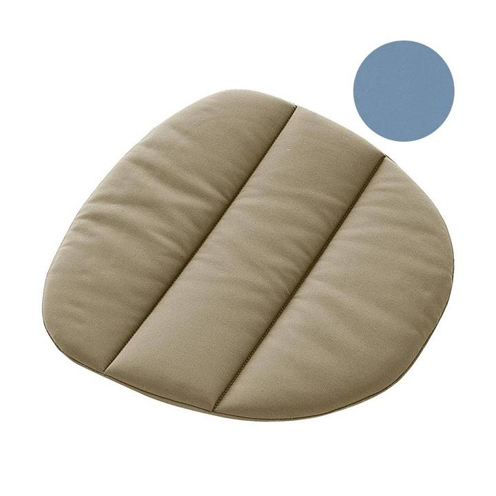 SALE   MDF Italia Flow Seat Pad   Blue Londra 11 - Workbrands