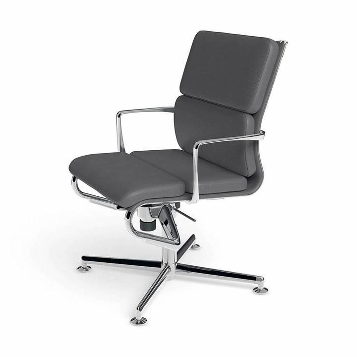 Alias 484 Meetingframe 52 Soft | Gepolijst aluminium