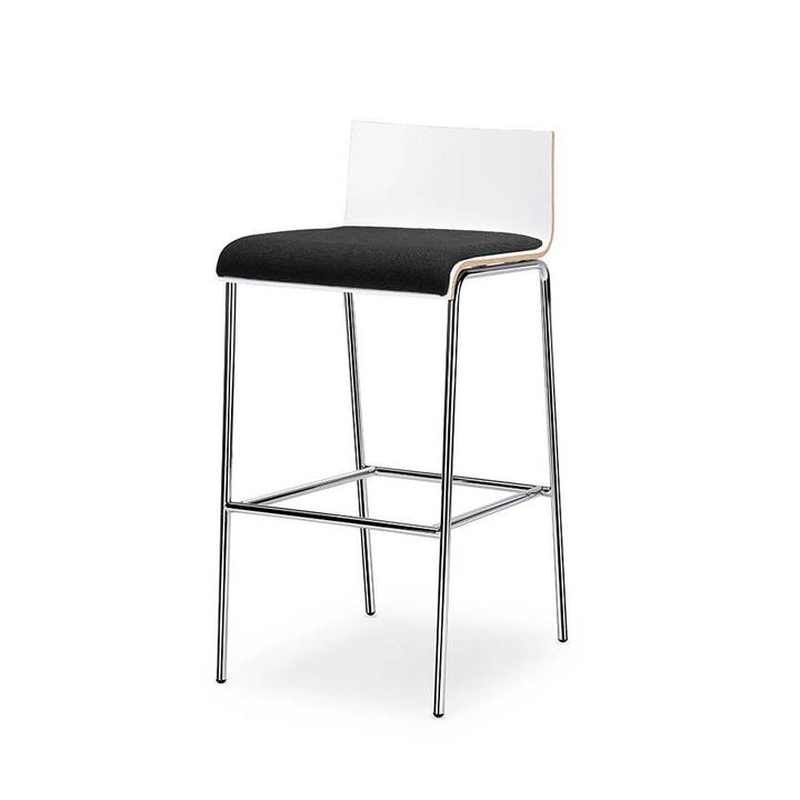 Interstuhl CURVEis1 | Barstool | seat upholstered