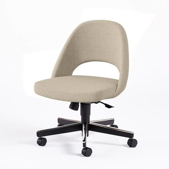 Knoll Knoll Saarinen Conference Armless Chair | Swivel