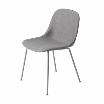 Muuto Muuto Fiber Side Chair | Tube base | Volledig bekleed