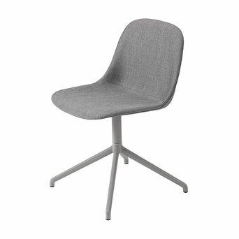Muuto Muuto Fiber Side Chair | Swivel base | Völlig bezogen