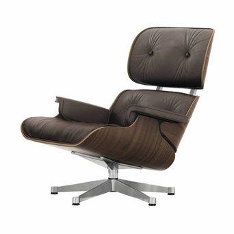 Vitra Vitra Lounge Chair | Notenhout, zwart gepigmenteerd