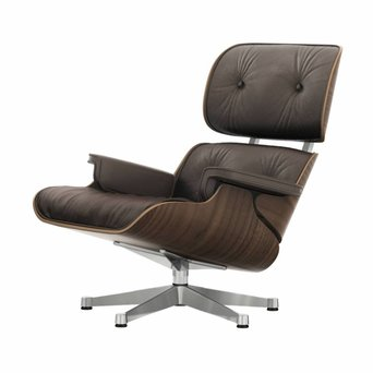 Vitra Vitra Lounge Chair | Walnut, black pigmented