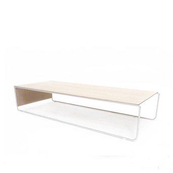 Arco OUTLET | Arco Setup 3 | 140 x 56 x 28 cm | Weiß eiche | Edelstahl