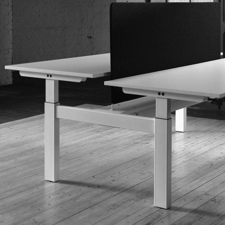 Bisley Duo | Zit-sta werkplek | Hoogte verstelbaar
