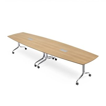 Interstuhl Interstuhl NESTYis3 | Folding table | Boat-shaped