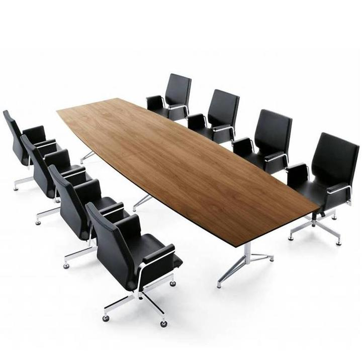 Interstuhl Fascino-2 | Conference table | Boat-shaped