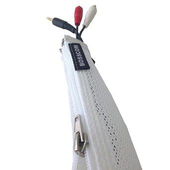Bosscom OUTLET | Bosscom Cable sock | White | 300 cm