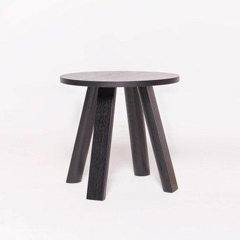 BuzziSpace OP=OP | BuzziSpace BuzziMilk Side Table | Zwart hout