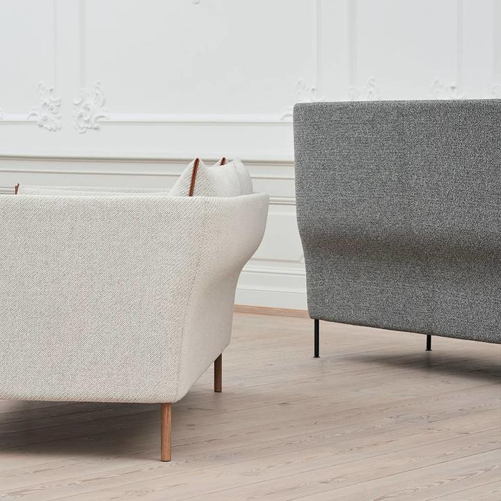 HAY Silhouette High Backed Sofa | 3-Zitsbank