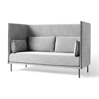 HAY HAY Silhouette High Backed Sofa | 3-Zitsbank