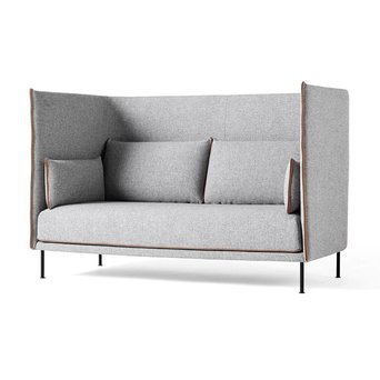 HAY HAY Silhouette High Backed Sofa | 2-Sitzer