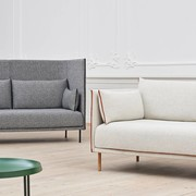 HAY Silhouette High Backed Sofa | 2-Sitzer