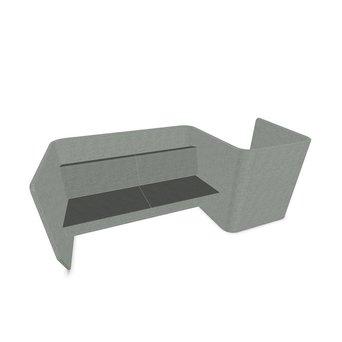 Buzzispace SALE | BuzziSpace BuzziVille | 330 x 120 x 120 cm | Grey Terra Silver