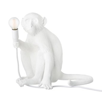 Seletti Monkey Lamp | Sitting