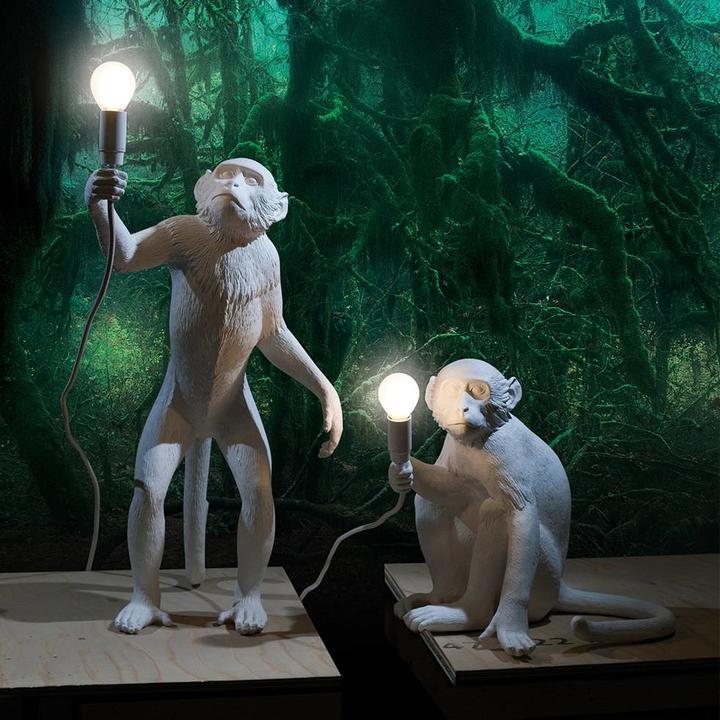 Seletti Monkey Lamp | Standing
