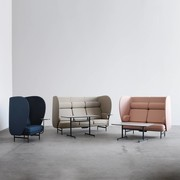 Fritz Hansen Plenum | JH1002 | Two seater sofa