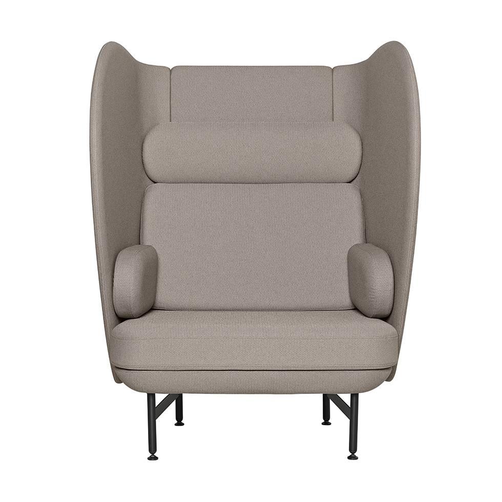 Arne Jacobsen Egg Chair Tweedehands.Fritz Hansen Plenum Jh1001 One Seater Sofa Workbrands