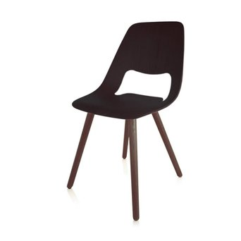 Vitra OUTLET | Vitra Jill Wood | Ash black | Walnut