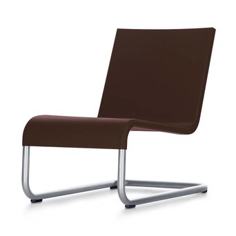 Vitra OUTLET | Vitra .06 | Chocolate kunststof | Stainless steel