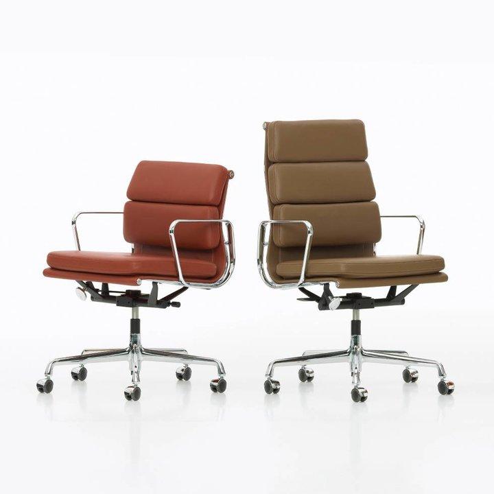 Refurbished Vitra EA 117 / 119 / 217 / 219 | Aluminium poliert | Sitz Ihrer Wahl