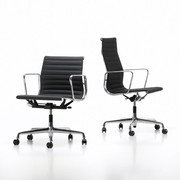 Refurbished Vitra EA 117 / 119 / 217 / 219 | Polished aluminium | Seat of your choice
