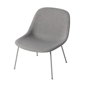 Muuto Muuto Fiber Lounge Chair | Tube base | Volledig bekleed