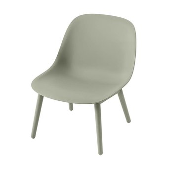 Muuto Muuto Fiber Lounge Chair | Wood base
