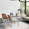 Muuto Fiber Lounge Chair | Tube base | Full upholstery