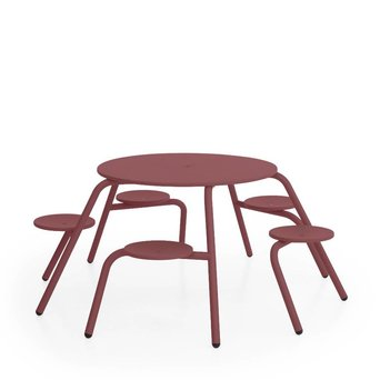 Extremis OUTLET | Extremis Virus Outdoor | 5-Seater | Wine red