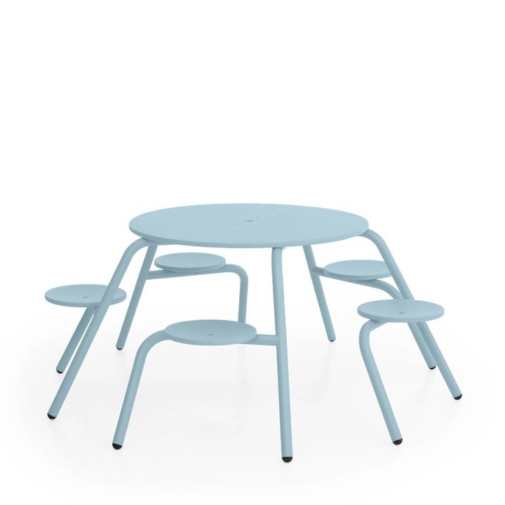 OUTLET   Extremis Virus Outdoor   5-Seater   Sky blue