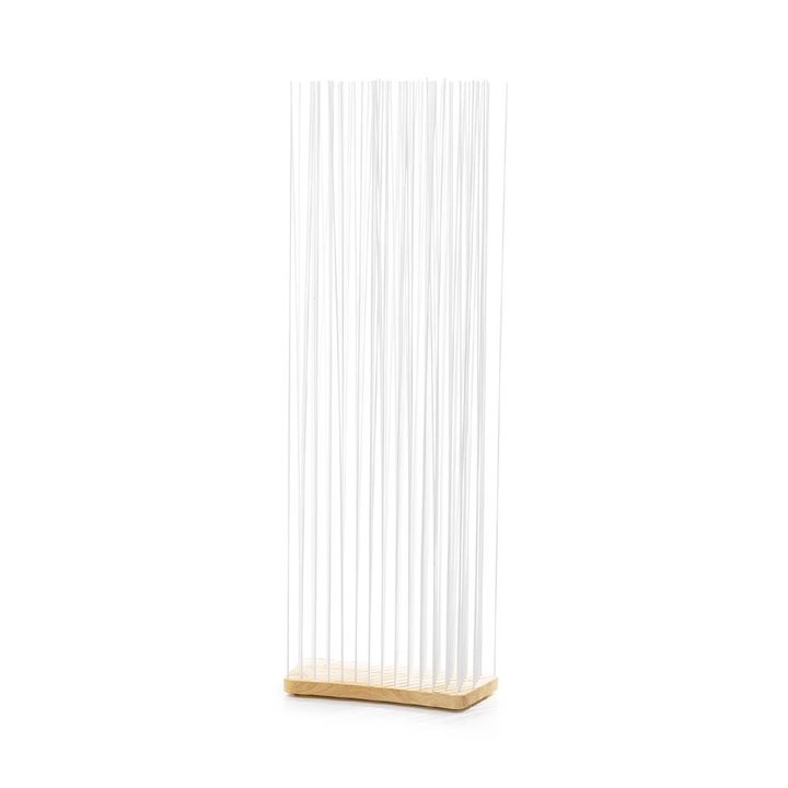 OUTLET | Extremis Sticks | Breit gebogen | Natur Holz | Weiß kunststoff