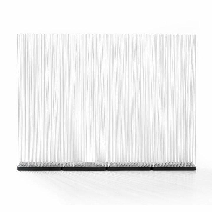 OUTLET | Extremis Sticks LED | Rechteckig | Kautschuk | Weiß kunststoff | H 212 cm