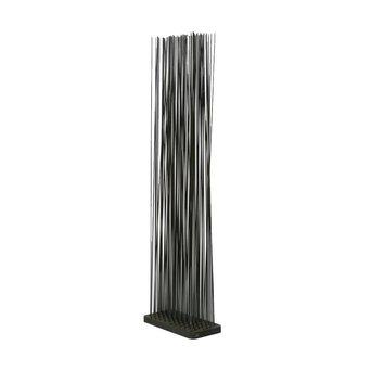 Extremis OUTLET | Extremis Sticks LED | Rechteckig | Kautschuk | Schwarz kunststoff | H 212 cm