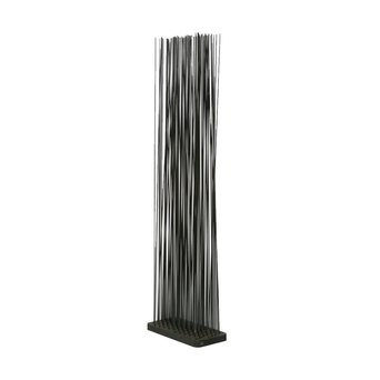 OUTLET | Extremis Sticks LED | Rechthoekig | Rubber | Zwart kunststof | H 212 cm