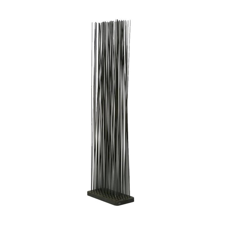 OUTLET | Extremis Sticks LED | Rechteckig | Kautschuk | Schwarz kunststoff | H 212 cm