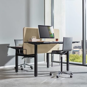 Workbrands Workbrands E-Smart | Dual sit/ stand workstation | Electric adjustment