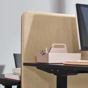 Workbrands Smart   H 65 cm   Scherm voor enkele werkplek