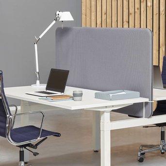 Workbrands Workbrands Smart | H 80 cm | Scherm voor enkele werkplek