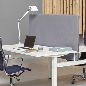 Workbrands Workbrands Smart | H 80 cm | Single desk divider