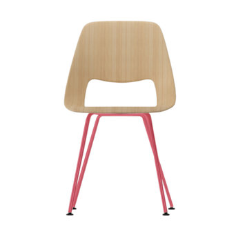 Vitra OUTLET | Vitra Jill Tube | Oak natural | Raspberry