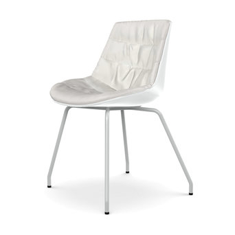 MDF Italia MDF Italia Flow Chair | Padded | 4-beinig