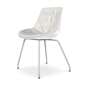 MDF Italia MDF Italia Flow Chair | Padded | Four-legged