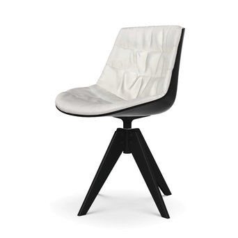 MDF Italia MDF Italia Flow Chair | Padded | VN Stahl 4-beinig
